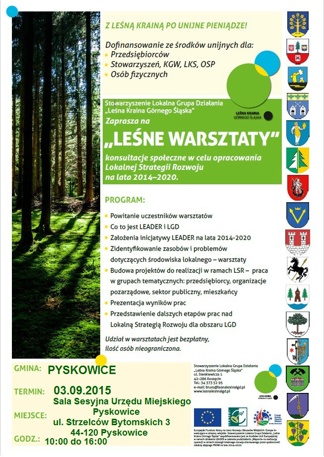 Leśne Warszaty w gminie Pyskowice