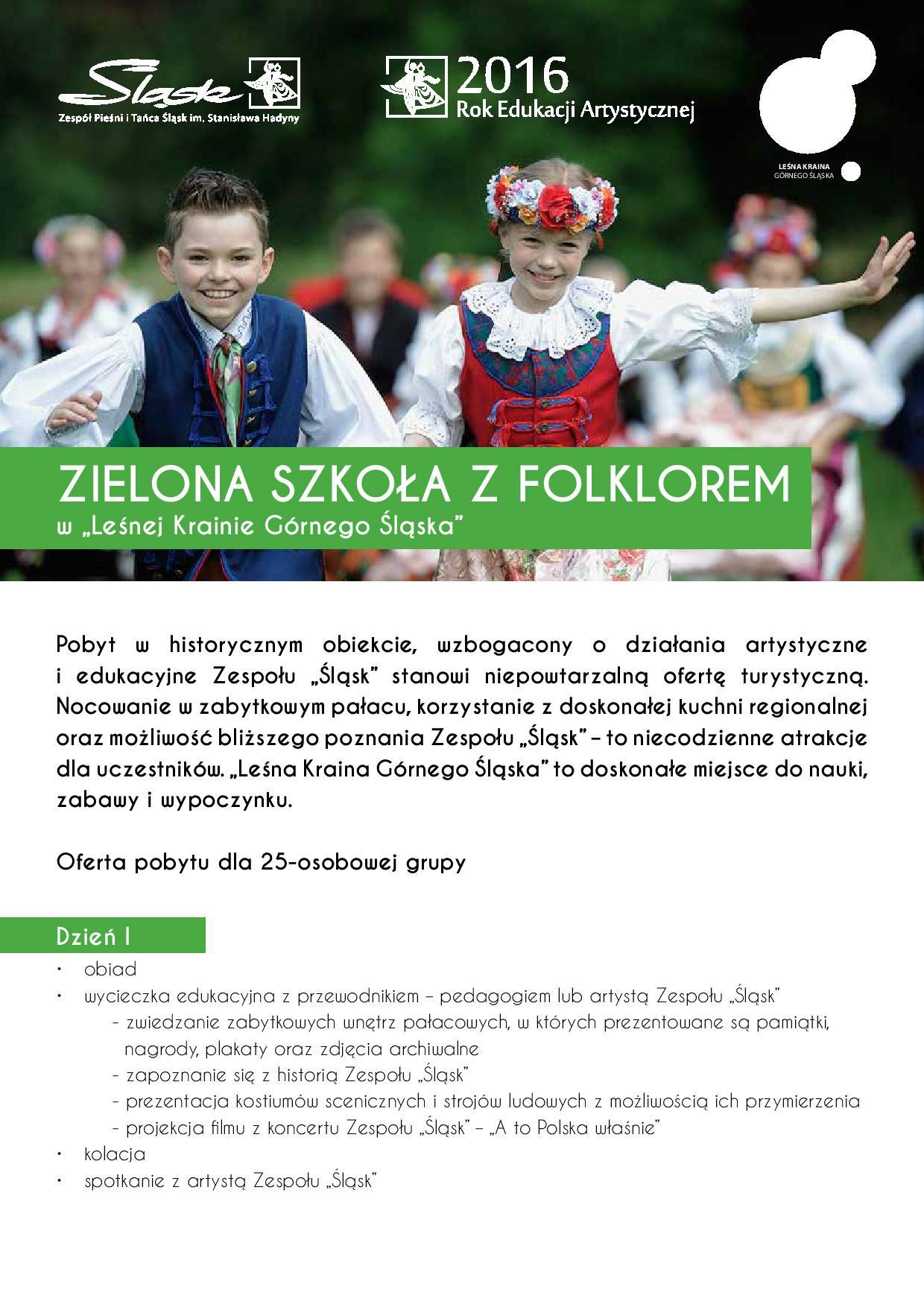 Zielona Szkoła!