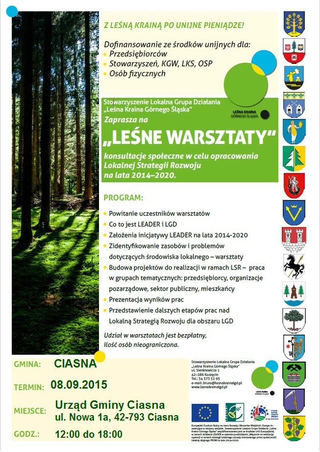 Leśne Warszaty w gminie Ciasna